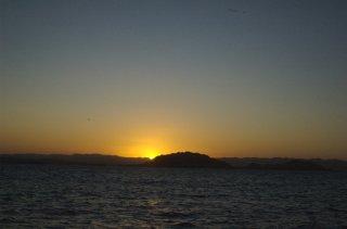 Bahia de Tortugas at Sunrise