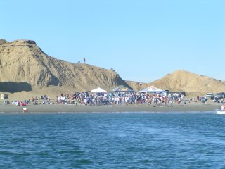 Our Arrival at the 2009 Baja Ha-ha Beach Party/Potluck